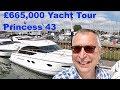 £665,000 Yacht Tour : Princess 43