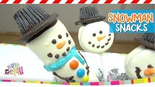 Snowman Snacks / Paletas de Mono de nieve y Renos Thumbnail