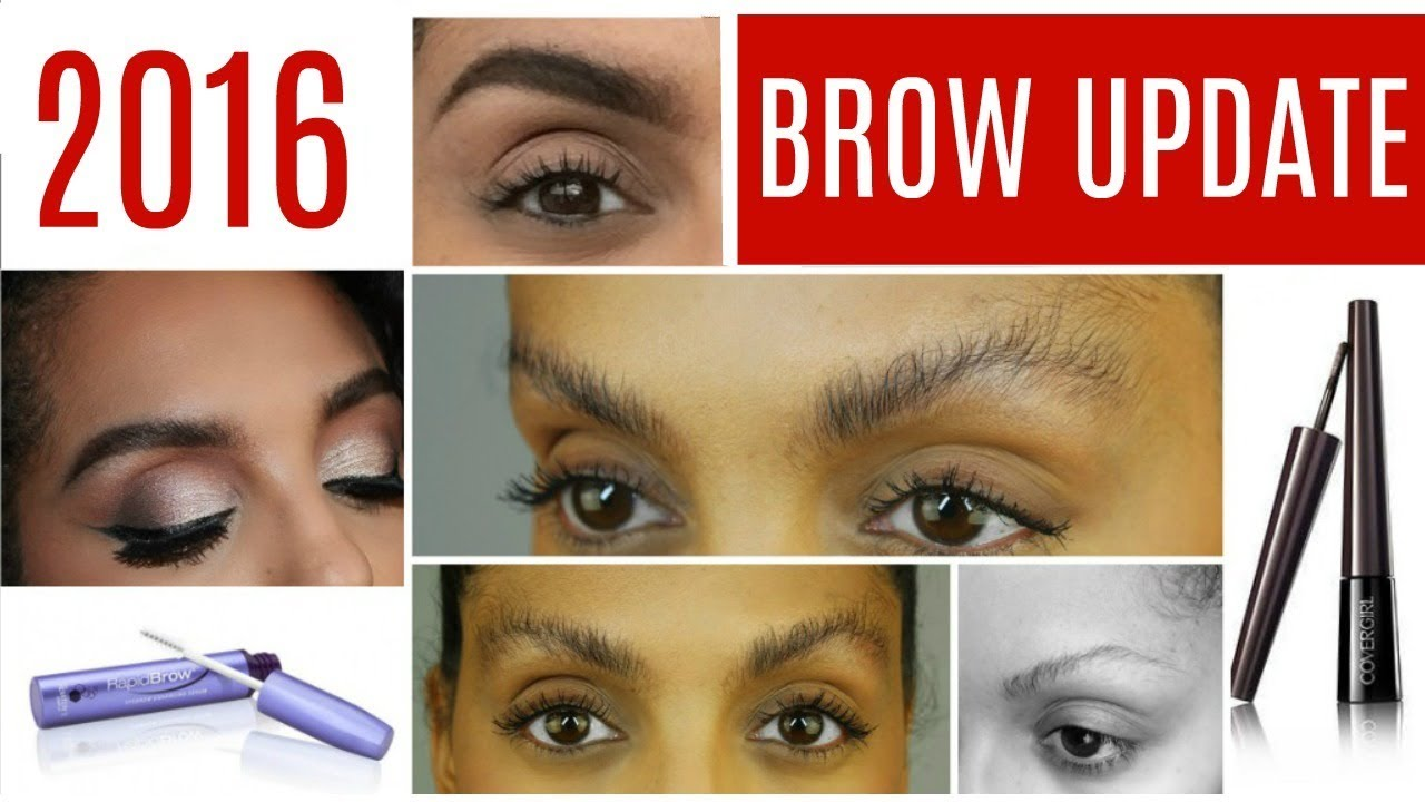 27f0d86edc1 BROW UPDATE | RAPID BROW, MY DETAILED BROW ROUTINE | DISCOCURLSTV ...
