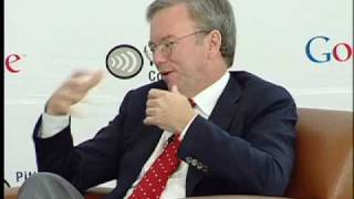 Eric Schmidt in conversation with Audrey Russo