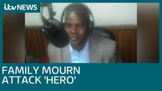 Security guard killed while helping others in Nairobi terror attack   ITV News