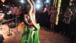 Snake Charmer +Drum solo by Samantha Diaz @Taj Lounge 2015