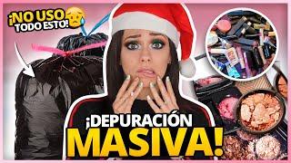 SACO MAS DE LA MITAD DE MI COLECCION? DEPURACION MASIVA! | SOMBRAS, PALETAS, ILUMINADORES Y MAS!!!