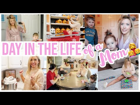 NEW DAY IN THE LIFE OF A STAY AT HOME MOM | DITL SAHM SCHEDULE + CLEANING ROUTINE | Brianna K