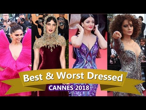 TOP 5 Best & worst Dressed  Actresses at Cannes 2018
