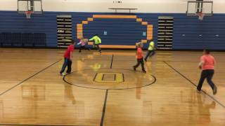 PE  Games Zombie Tag Warm Up Grades 1-5
