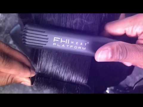 Natural Hair Silk Press FHI flat irons
