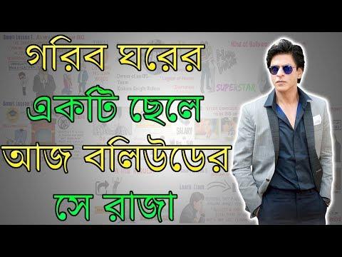 গরিব ঘরের একটি ছেলে আজ সে বলিউডের রাজা - Shahrukh Khan Biography in Bengali - Zero To Hero #1