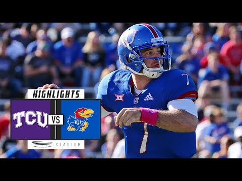 TCU vs. Kansas Football Highlights (2018) | Stadium