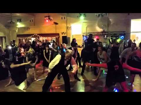 Chris and kims Wedding flash mob
