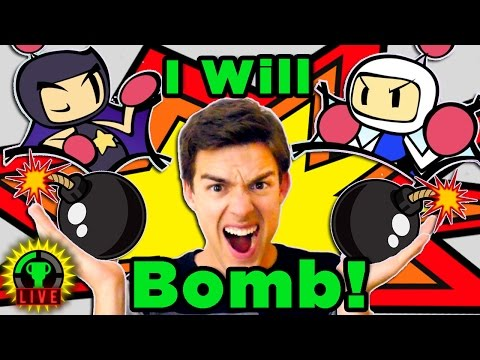 This Epic YouTuber Showdown is DA BOMB! | Super Bomberman R - GTLive - Super Bomberman R