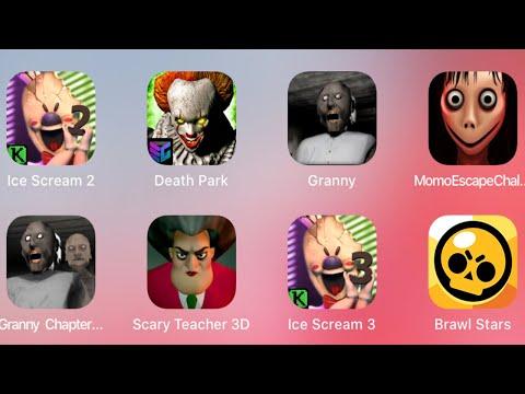 Death Park Scary Teacher 3d Ice Scream 3 Granny Brawl Stars Horror Game Gameplay Full Ending Update