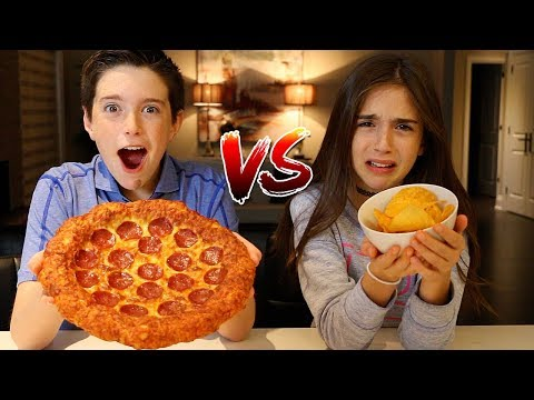 Thumbnail: POTATO CHIPS vs REAL FOOD CHALLENGE!!