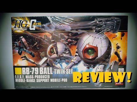 SHOKY REVIEWS: HGUC Mobile Suit Gundam RB-79 BALL TWIN SET