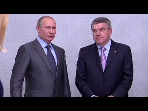 Russia: Putin says gay athletes and visitors welcome at Sochi games