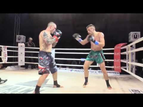 Łukasz Pławecki (HALNY Nowy Sącz) vs Łukasz Kaczmarczyk (Gym Fight) HFO finał turnieju