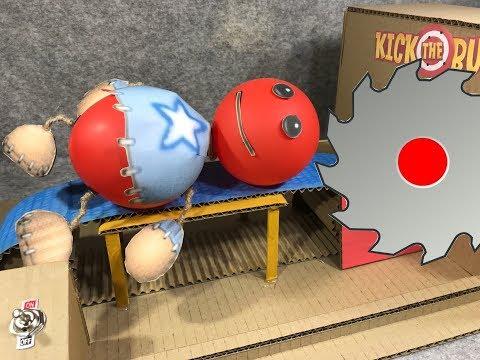 Buddy Antistress VS Buzzsaw. Kick The Buddy. DIY