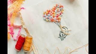 👩❤️👨 Влюбленные. Вышивка лентами для начинающих / Lovers. Embroidery with ribbons