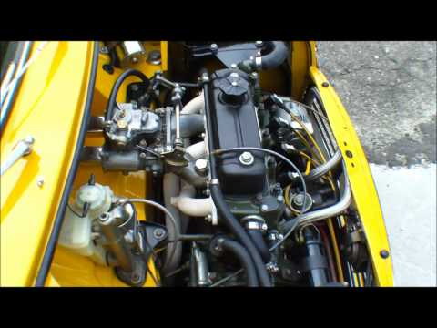 Mini Cooper 1300 WEBER Sound