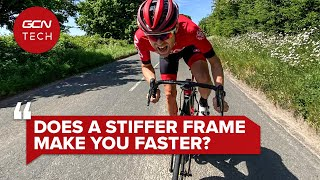 Фото Does A Stiffer Bike Frame Actually Make You A Faster Cyclist?   GCN Tech Clinic #AskGCNTech