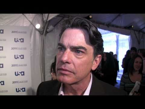 Peter Gallagher of 'Covert Affairs' at the 2011 USA Network upfront