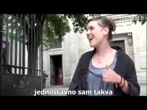 ZAZ Je Veux - Street performance (Serbian lyric)