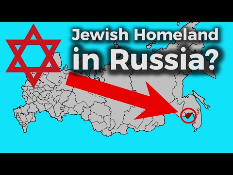 The First Jewish Homeland in the Russian Far East –  Birobidzhan