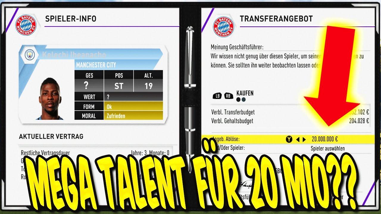 fifa 17 talente karrieremodus