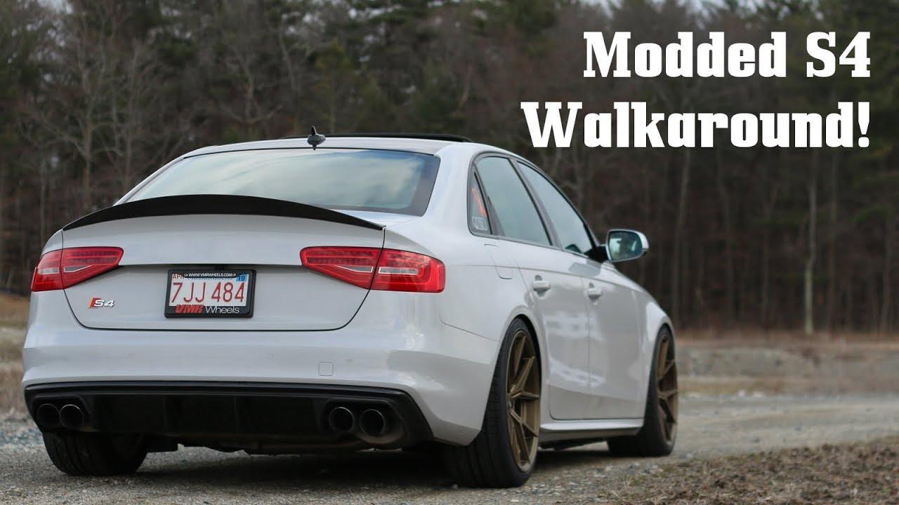 Modified B85 S4 Mod Listwalkaround Youtube