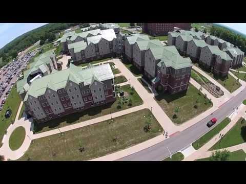Edinboro University Aerials 2013