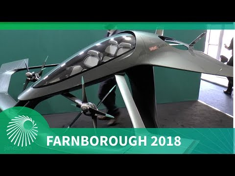 Farnborough 2018: Aston Martin Volante Vision urban air taxi concept vehicle