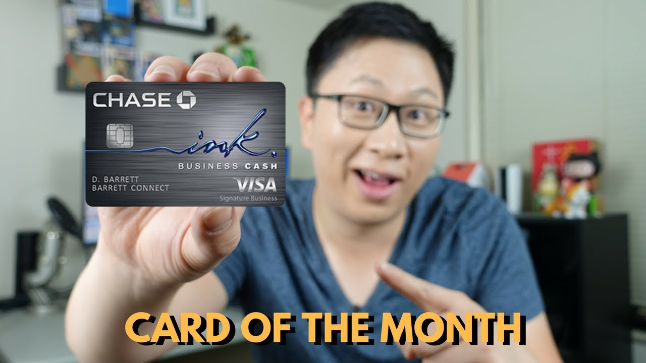 Card of the Month: Chase Ink Cash (50k UR Historic High) - YouTube