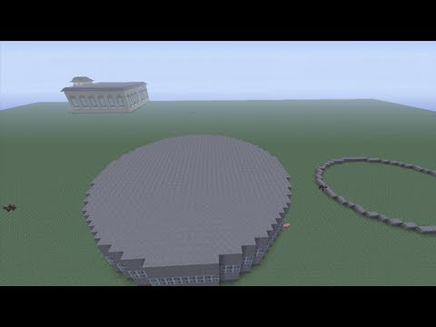 Minecraft: How to make perfect circles