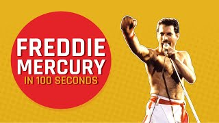 MensXP: Everything About Queen's Lead Vocalist Freddie Mercury In 100 seconds