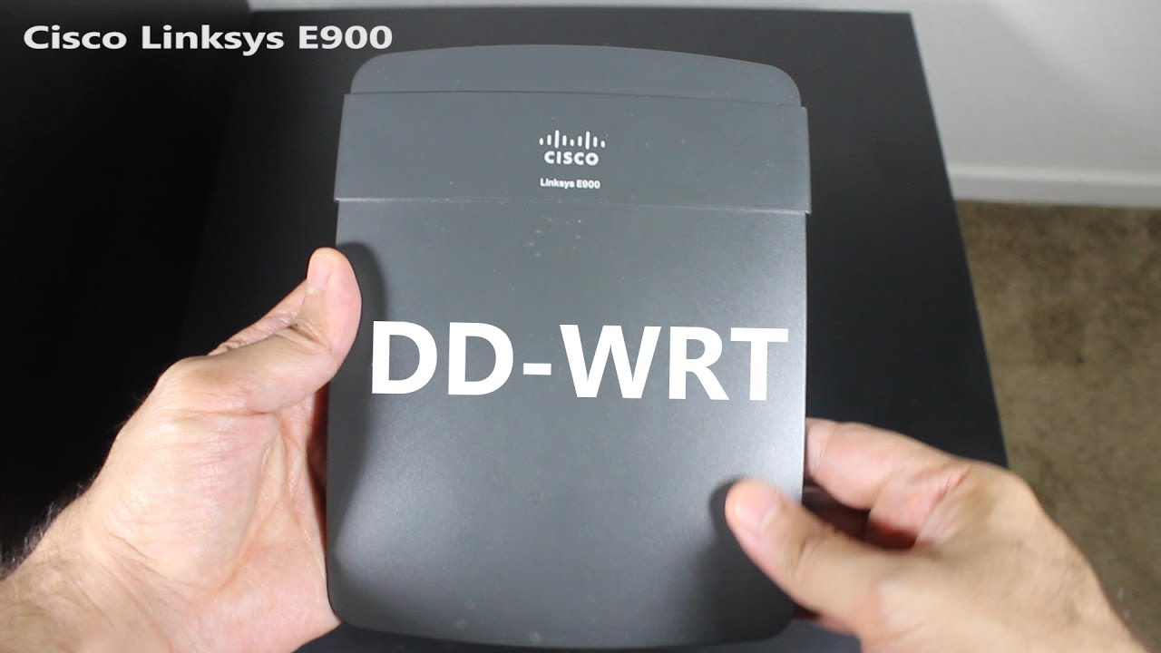 How to Install DD-WRT on a Linksys E900 Wireless Router [OUTDATED]