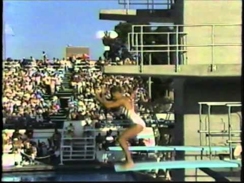 1984 Olympic Games - Women's 3 Meter Springboard Diving