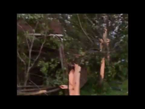 Tornado hits through Highland County