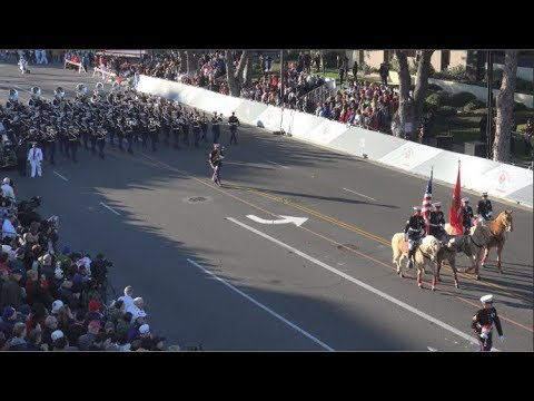 USMC West Coast Composite Band - 2019 Pasadena Rose Parade