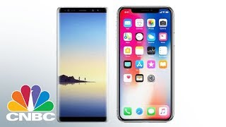 How The iPhone X Compares To The Galaxy Note 8 | CNBC