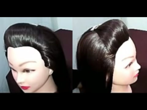 How to Put a Puff in your Hair - YouTube