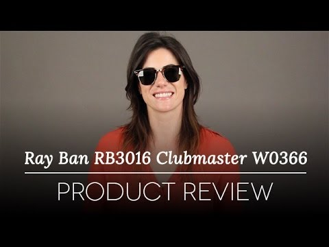 c9e374786a1 Ray-Ban RB3016 Clubmaster W0366 Sunglasses Review - YouTube