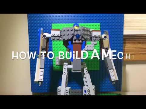 how to make a lego mech youtube