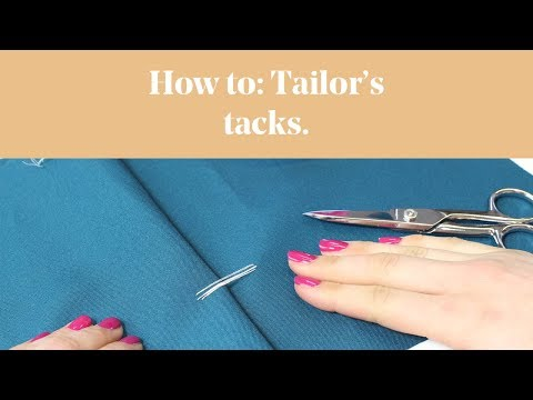 How To: Tailor's Tacks
