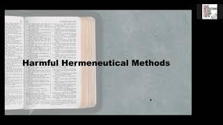 Hermeneutics Class 3