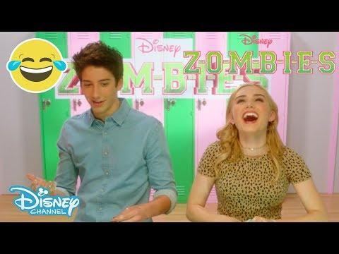 Z-O-M-B-I-E-S | Mystery Slime Challenge ⁉️ | Official Disney Channel UK