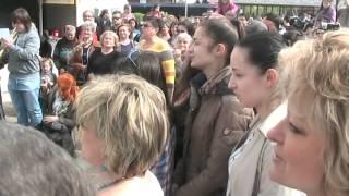 Flashmob - Püspökladány piactér