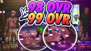 FIRST 99 OVERALL DESTROYS 98 OVERALLS IN A 1V1 FOR $5000! NBA 2K18 ANTE UP GAMEPLAY! STAGE GAMEPLAY!
