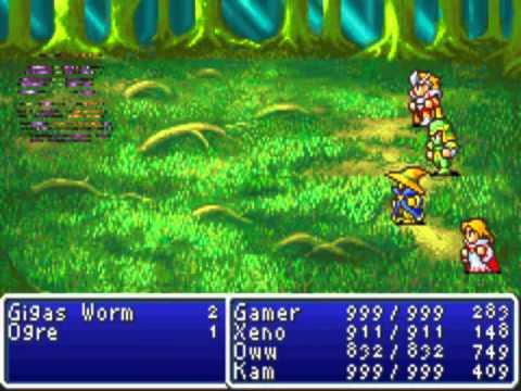 Final Fantasy GBA - Black Magic Exhibition