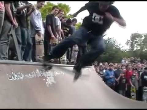 Chris Cole DC Riot Tour EU 2011 Cologne !