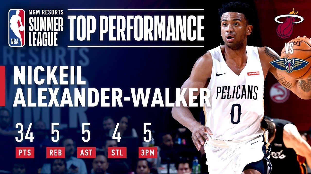 Nickeil Alexander-Walker Leads Pelicans to the Semis | July 13, 2019